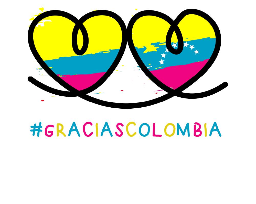 #GraciasColombia